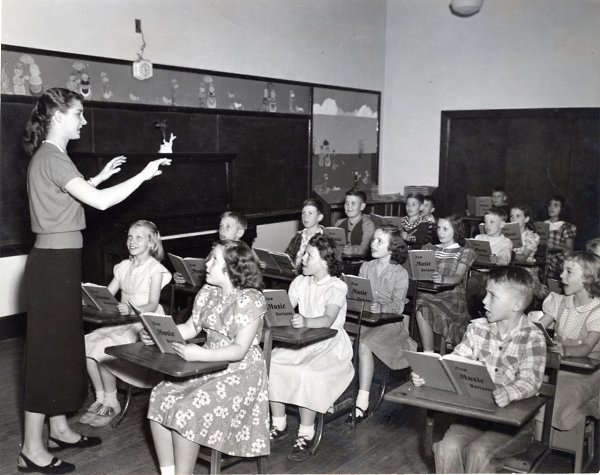 Image result for 1950 school